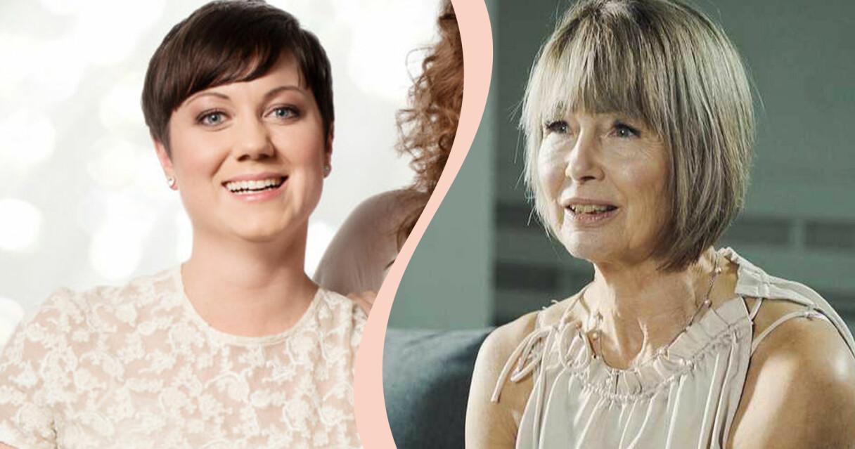 Ellen Tejle och Elizabeth Feurst som båda varit med i Gift vid första ögonkastet.