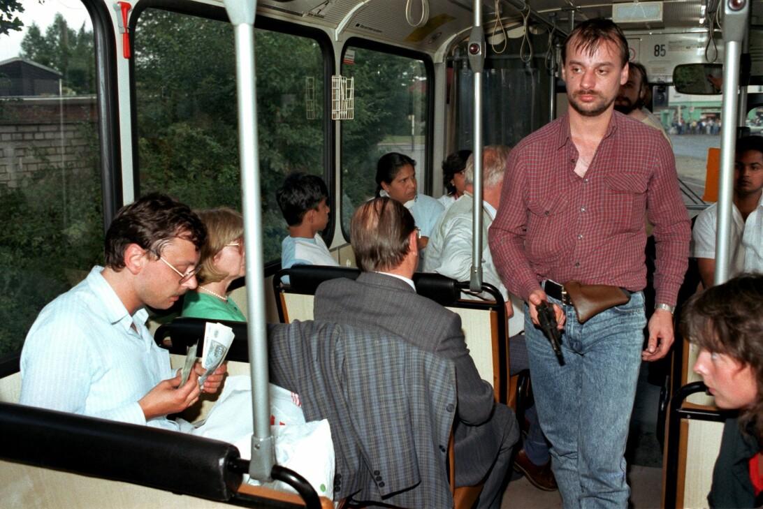 Två desperados tog en hel buss som gisslan i tyska Gladbeck