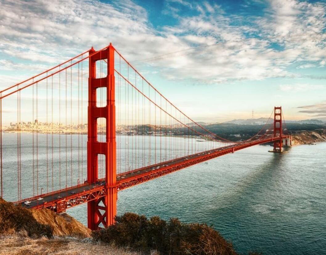 Golden Gate-bron.