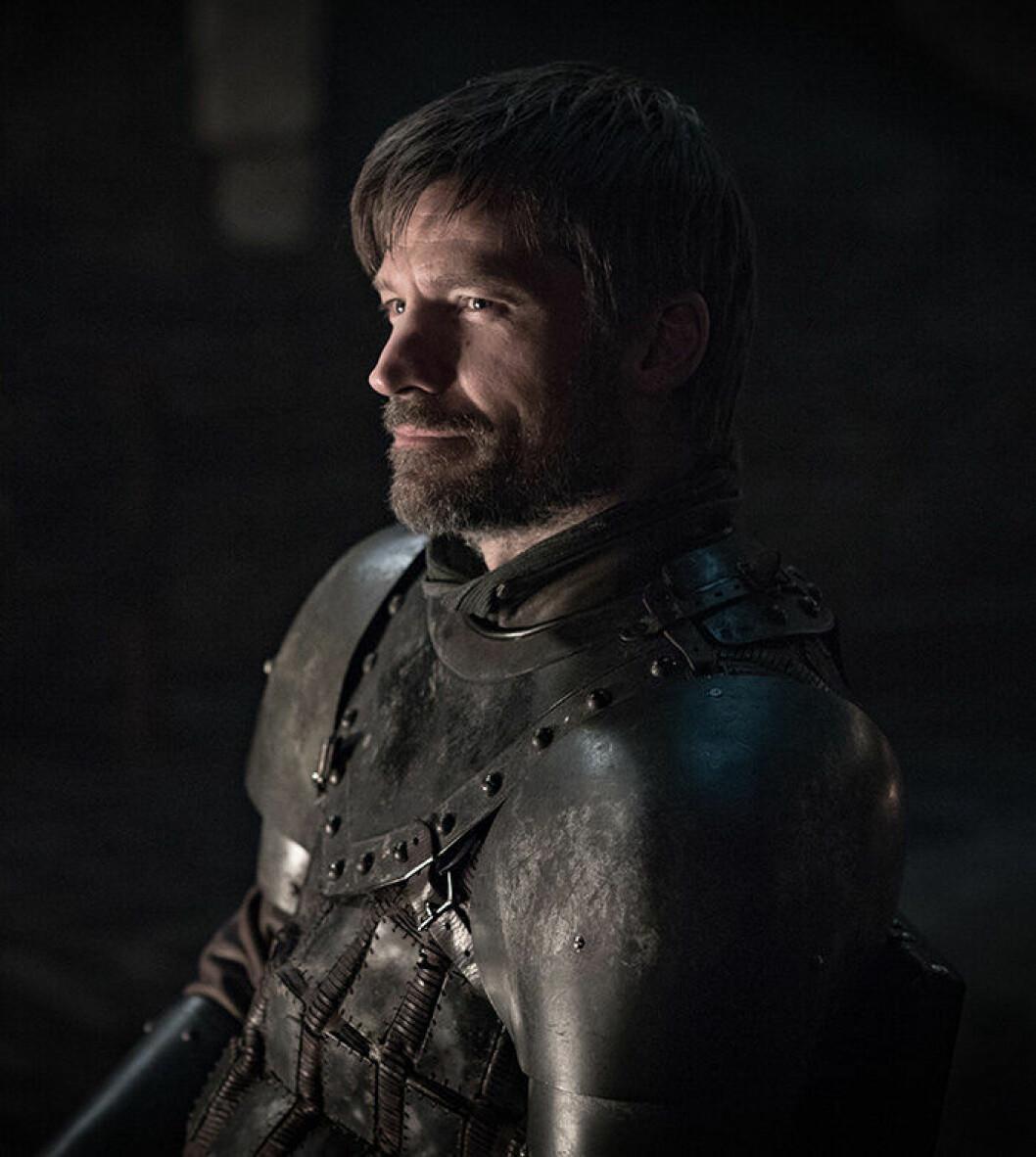 En bild på karaktären Jamie Lannister från tv-serien Game of Thrones.