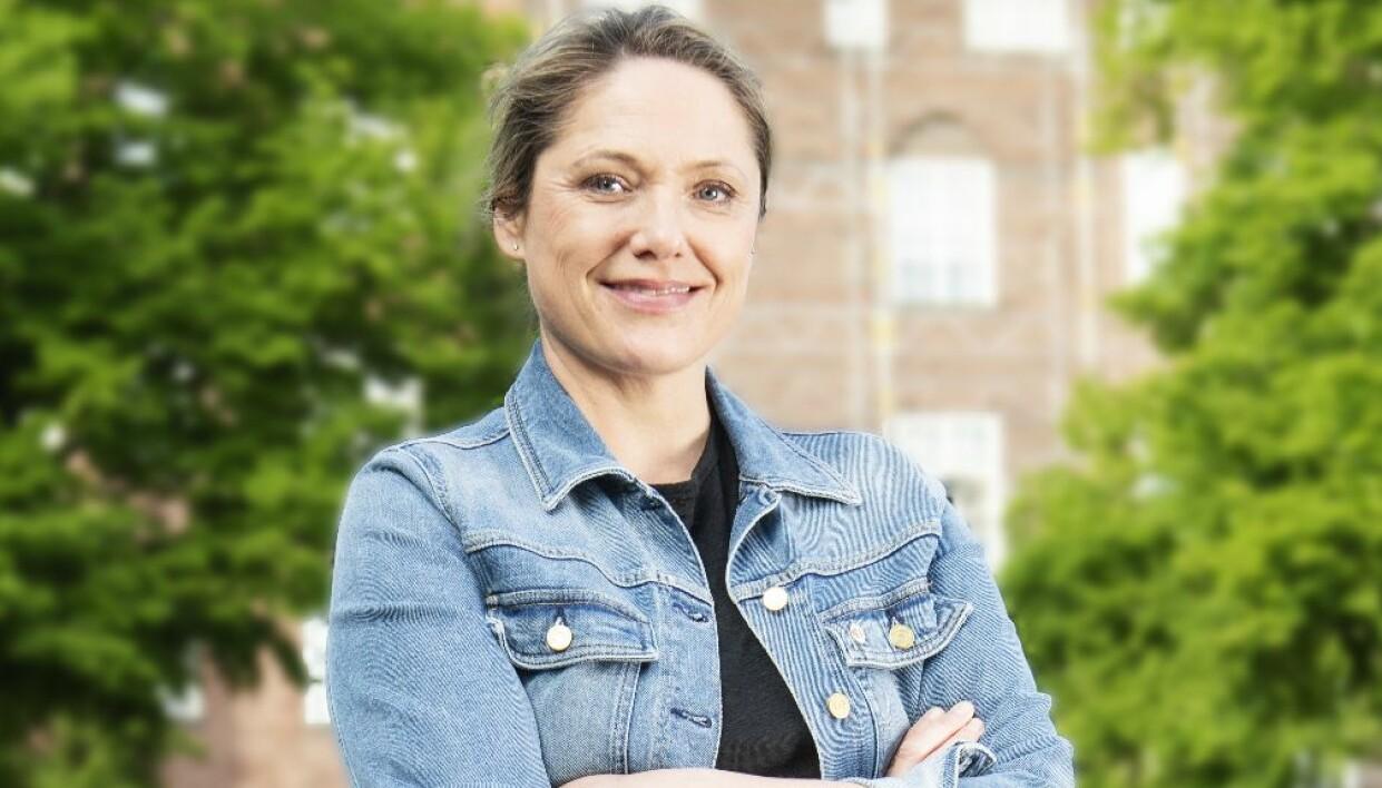 Caroline Bagge blev mamma tillsammans med sin kollega som är homosexuell.S