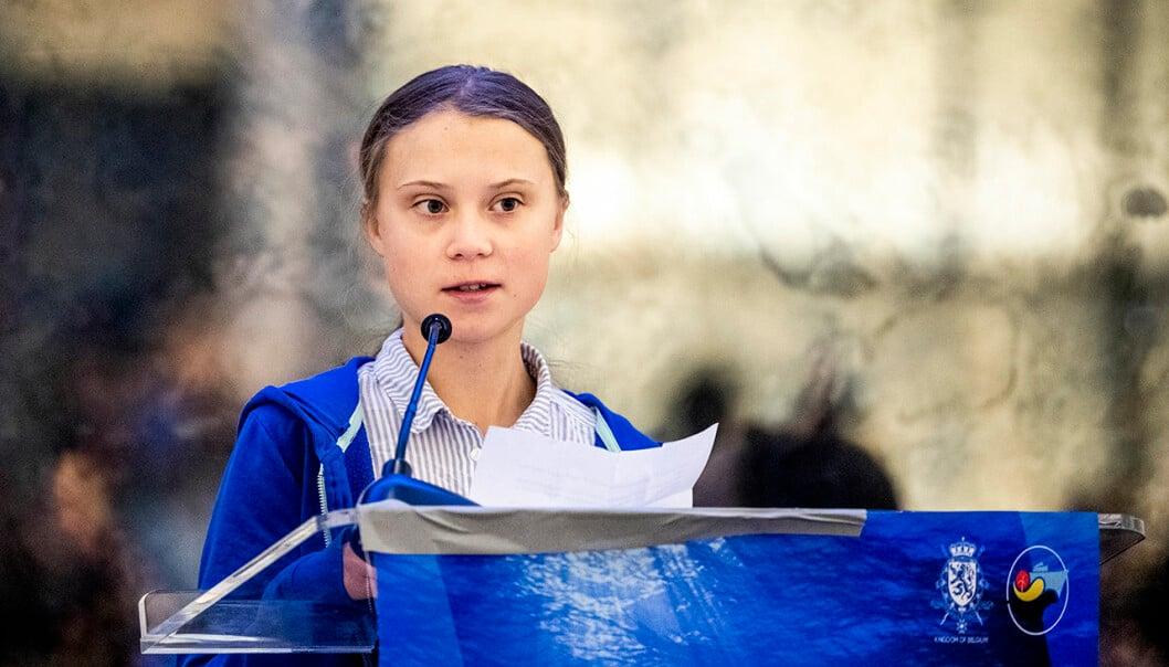 Nya frimärken på temat värdefull natur med motiv på Greta Thunberg och svenska landskap kommer 14 januari 2021.