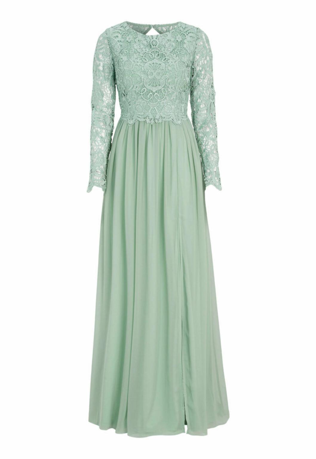 Ljusgrön klänning från Bubbelroom