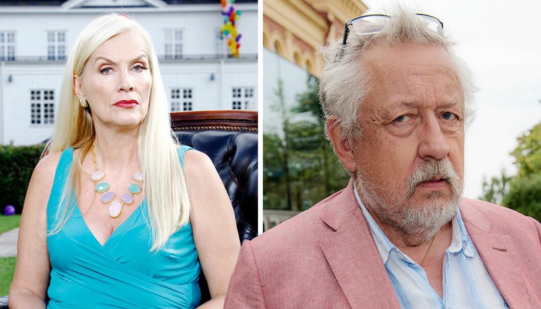 Gunilla Persson och Leif GW Persson