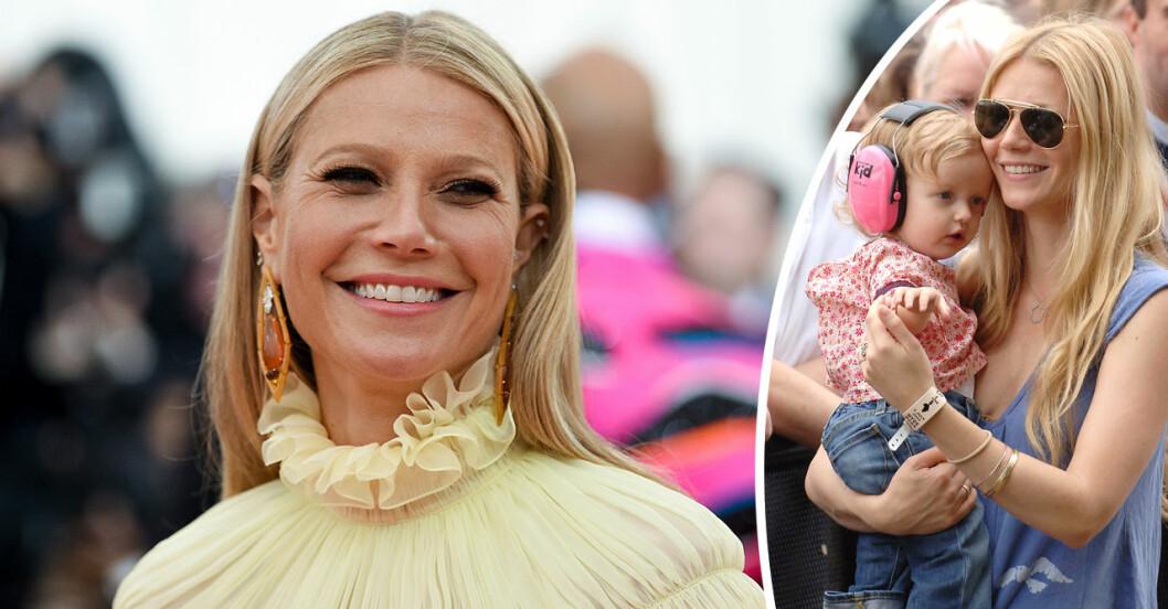 Gwyneth Paltrow och dottern Apple