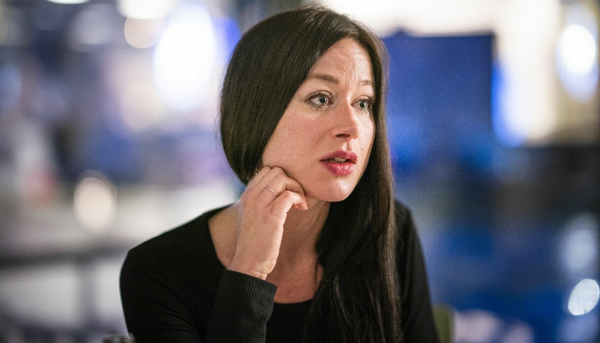 Porträtt på Hanna Widerstedt som berättar om hur dåligt hon mådde som prostituerad.