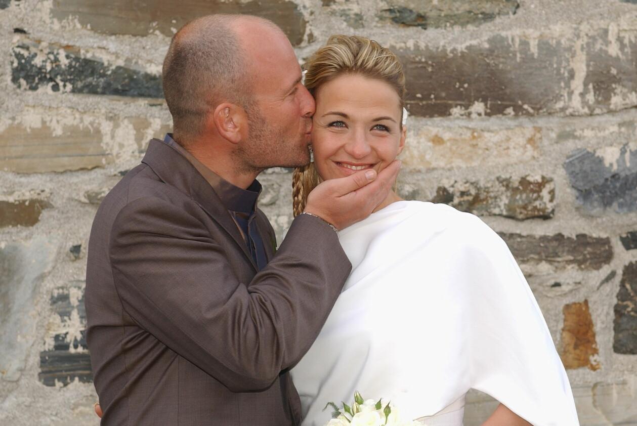 Hans Fahlén och Kristin Kaspersen gifter sig i Åre 2003.