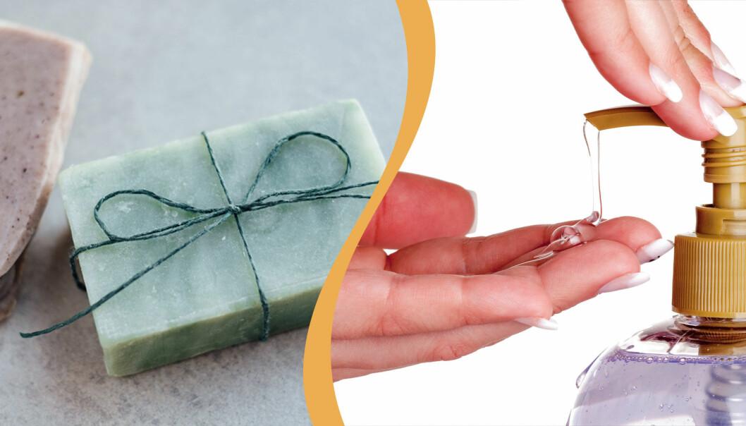 Hård tvål eller flytande tvål? Vilken är mest effektiv mot bakterier och virus?