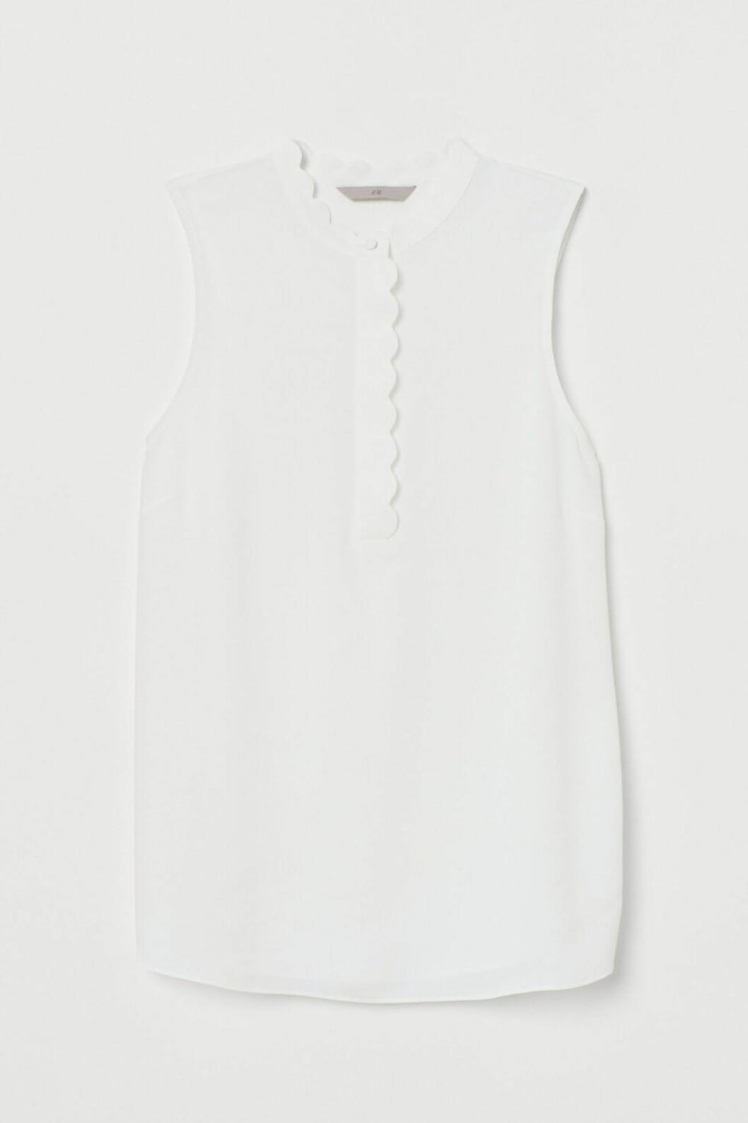 vitt linne från h&M