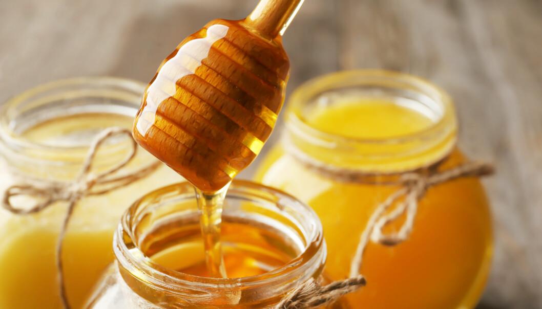 Äkta honung tillverkas genom att bin för nektar till bikupan där sedan honungen bildas. I livsmedelsbutikerna säljs honung som tagits fram artificiellt utan bin.