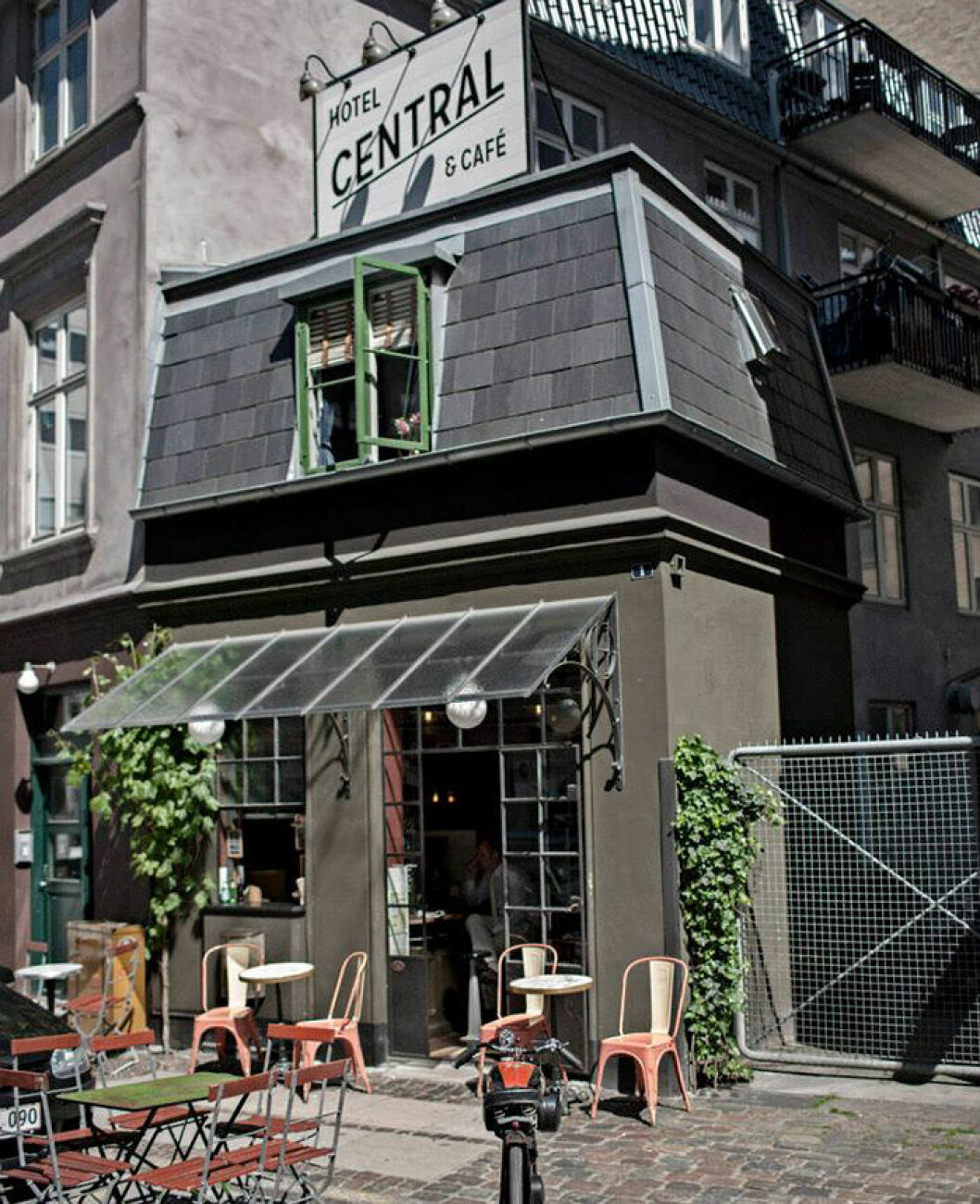 Hotel Central & Café – ett unikt, pyttelitet hotell i Köpenhamn