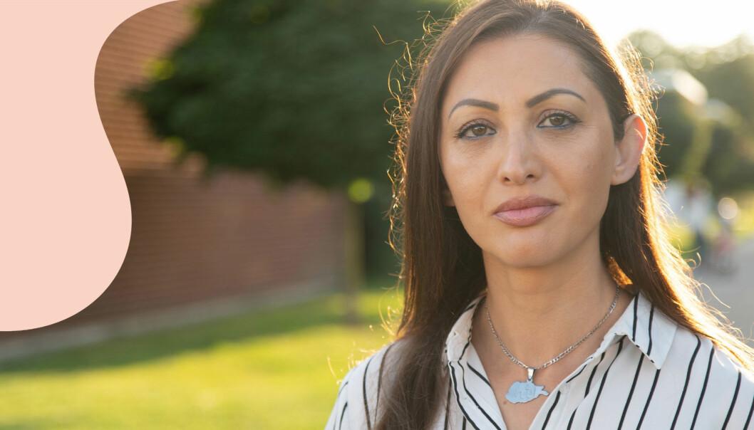 Humaira Ahmadzai Tahir i Staffanstorp oroar sig för släktingarna som finns kvar i hemlandet Afghanistan.