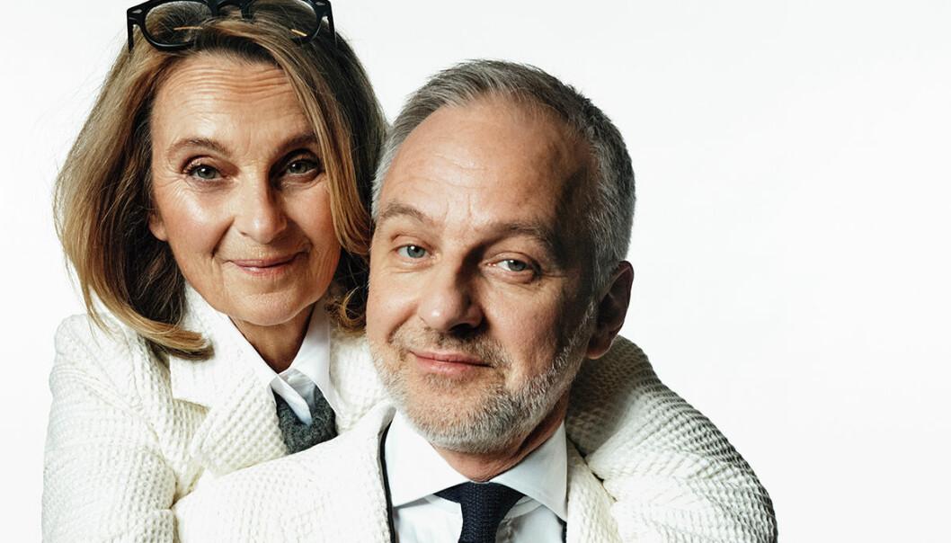 Suzanne Reuter och Björn Kjellman har huvudrollarna i ICA:s reklamfilmer sedan början på 2021.