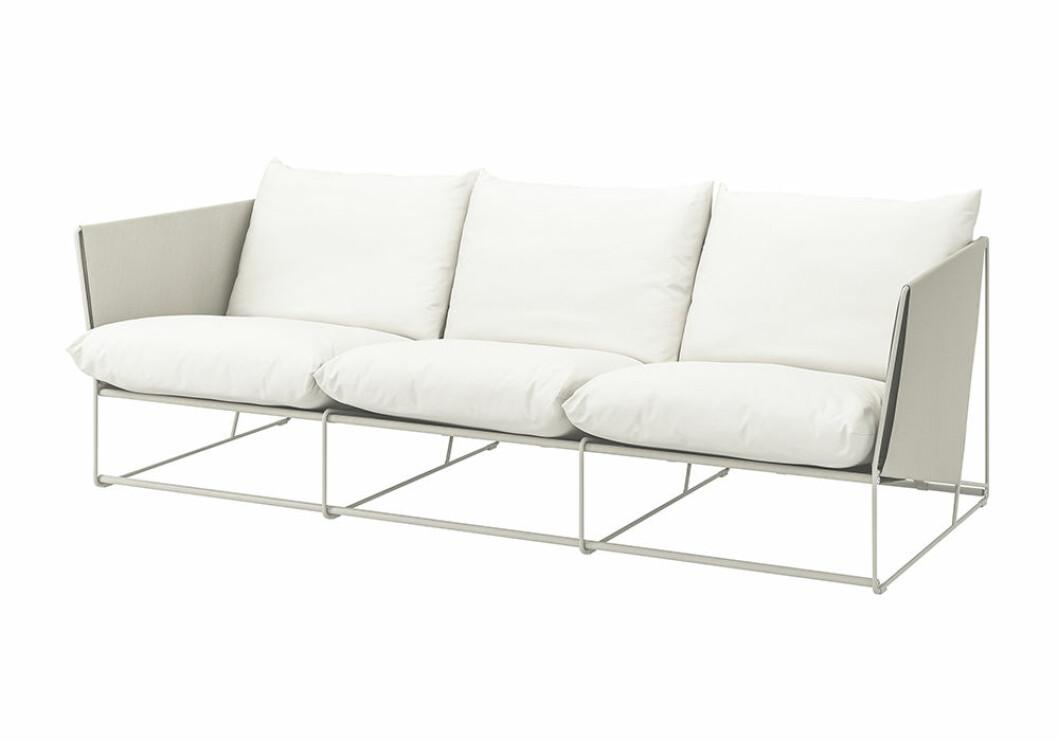 Havsten soffa för uteplatsen från Ikea