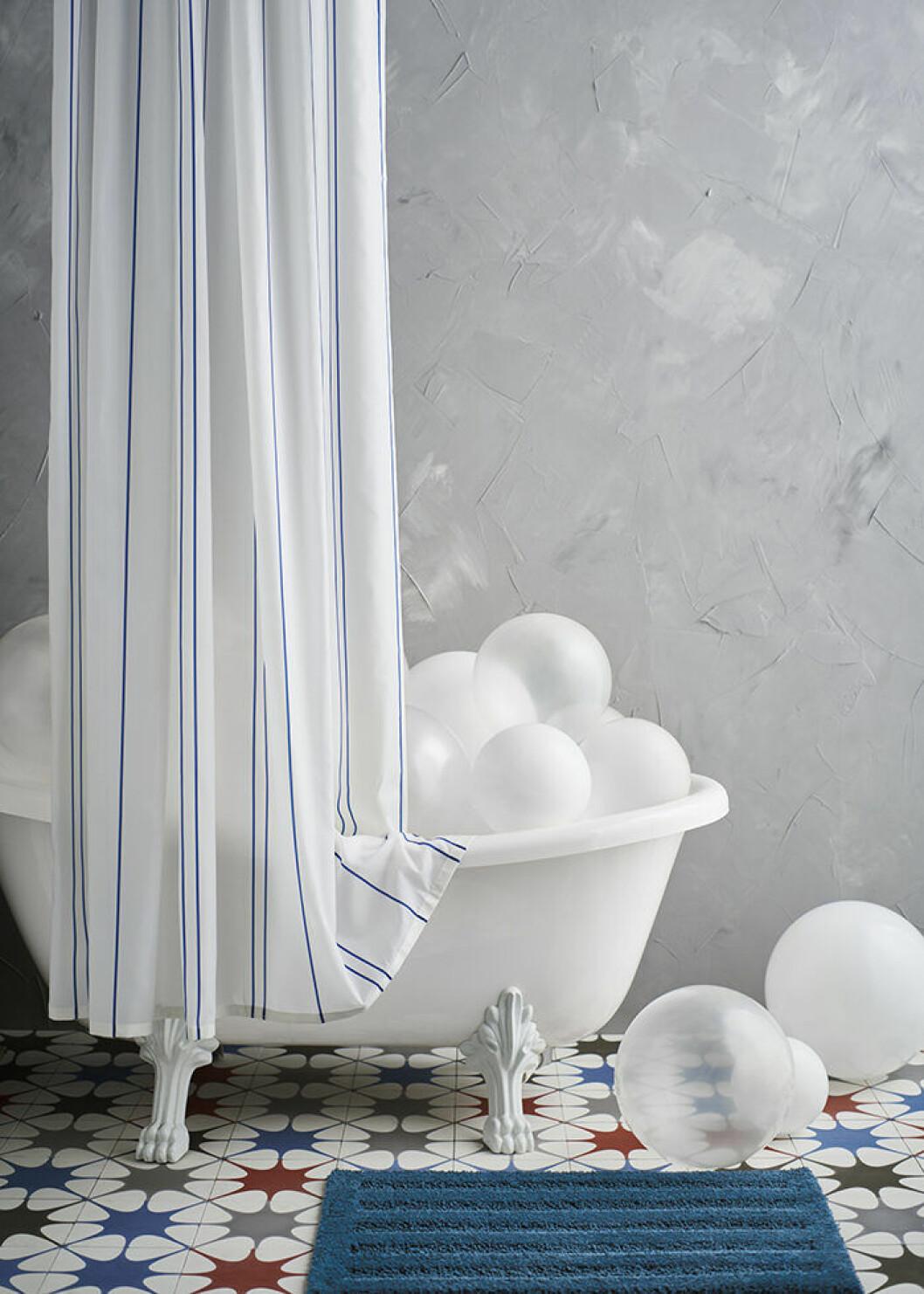 Ottsjön duschdraperi från Ikea