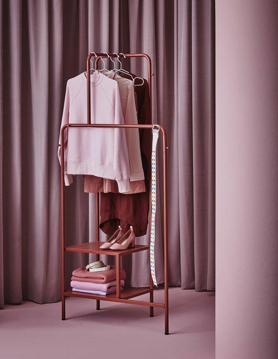 Nikkeby klädställning från Ikea