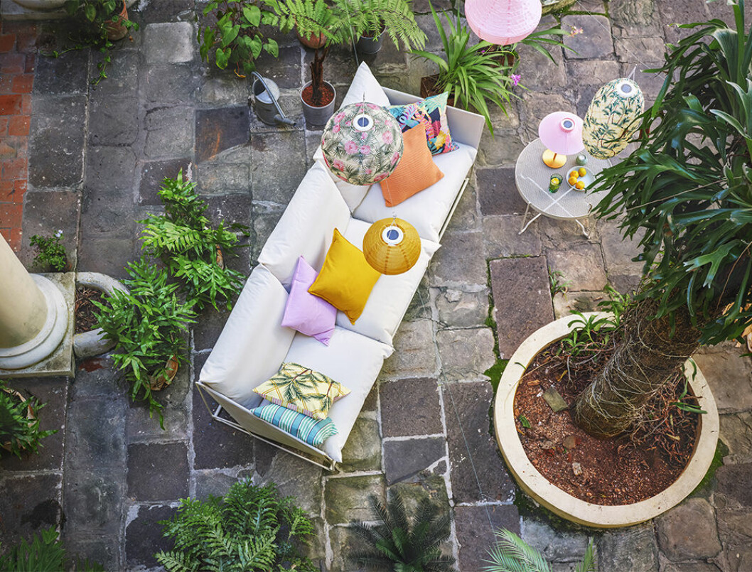 Ikea sommarnyheter 2020 i färg och mönster