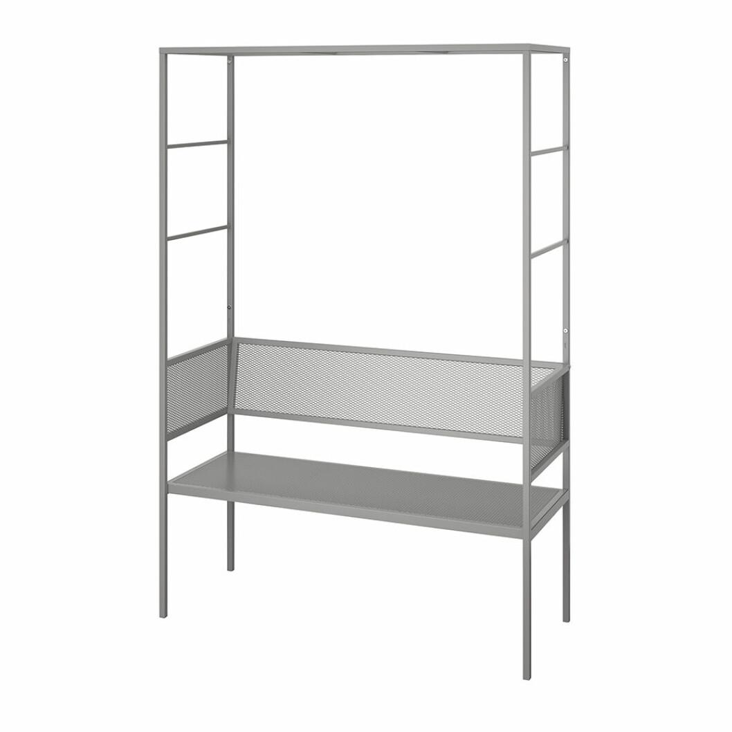 Svanö bänk med spaljé från Ikea