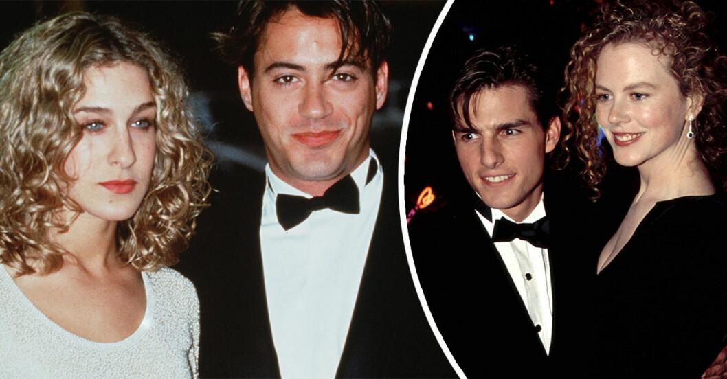 Sarah Jessica Parker och Robert Downey Jr och Tom Cruise och Nicole Kidman