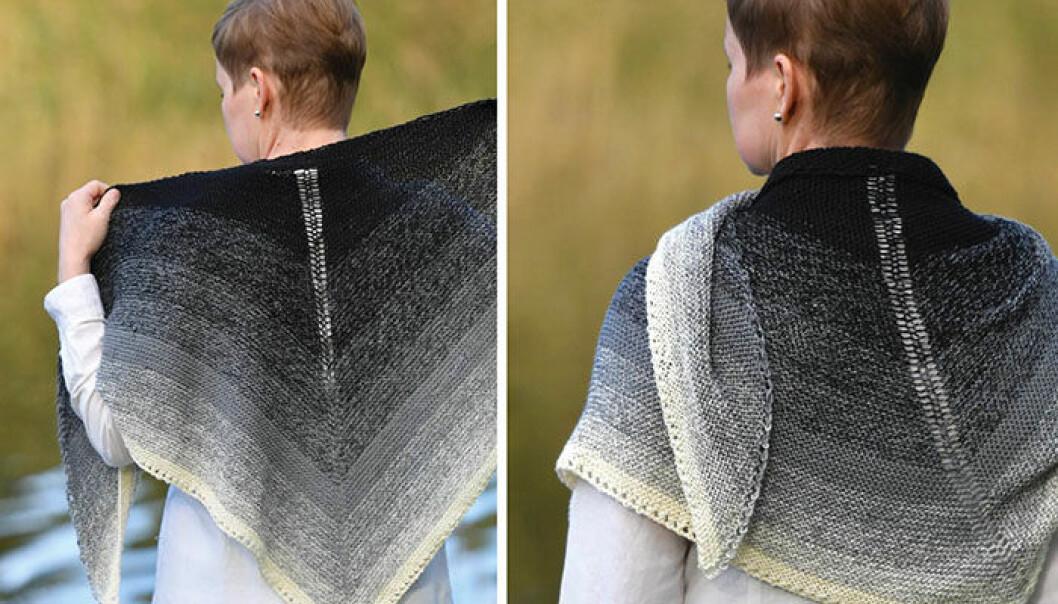 Sticka sjal