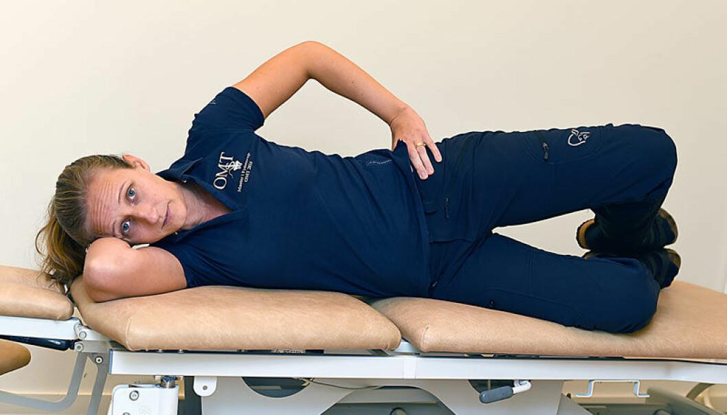 övningar för artros i höft