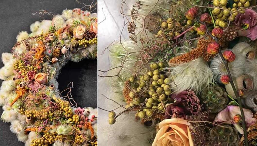 Lär dig göra höstens snyggaste blomsterarrangemang.