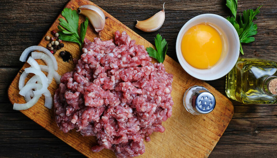 ägg i köttbullar