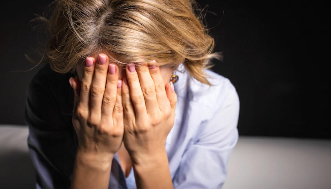 tecken på depression hos kvinnor