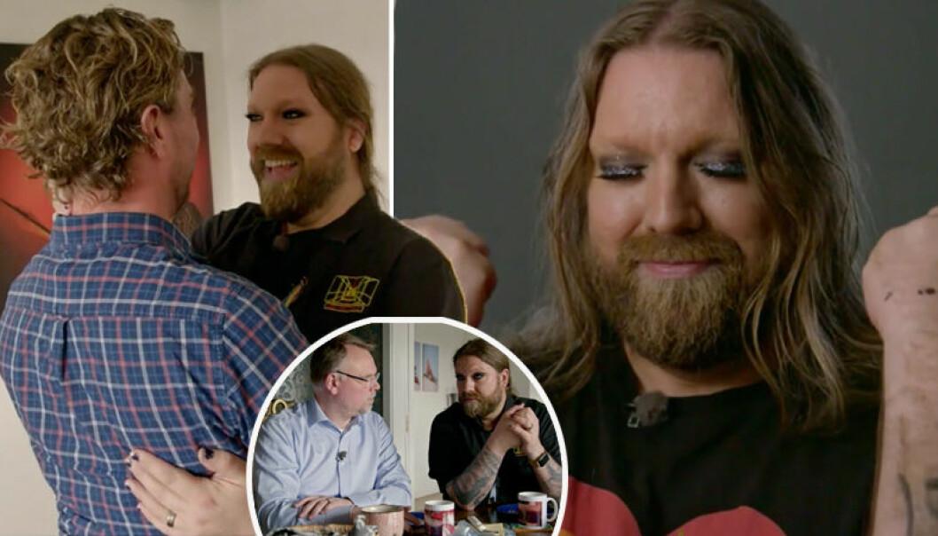 I Anders knackar på möter vi denna vecka Rickard Söderberg och hans make.