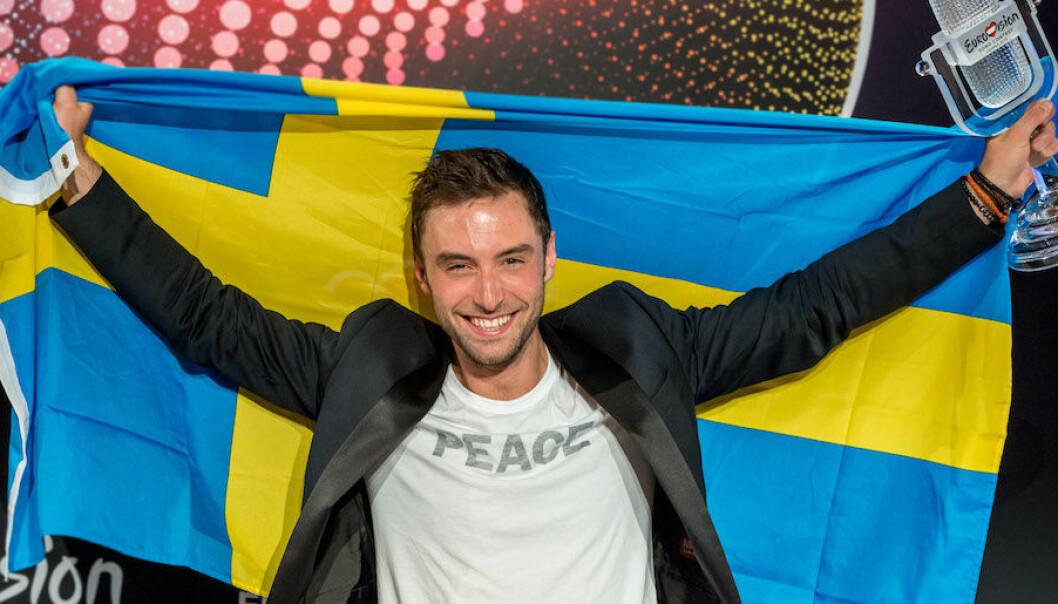 Måns Zelmerlöw har vunnit Eurovision Song Contest för Sverige.