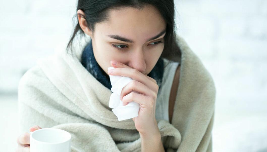 hur snabbt blir man smittad av förkylning