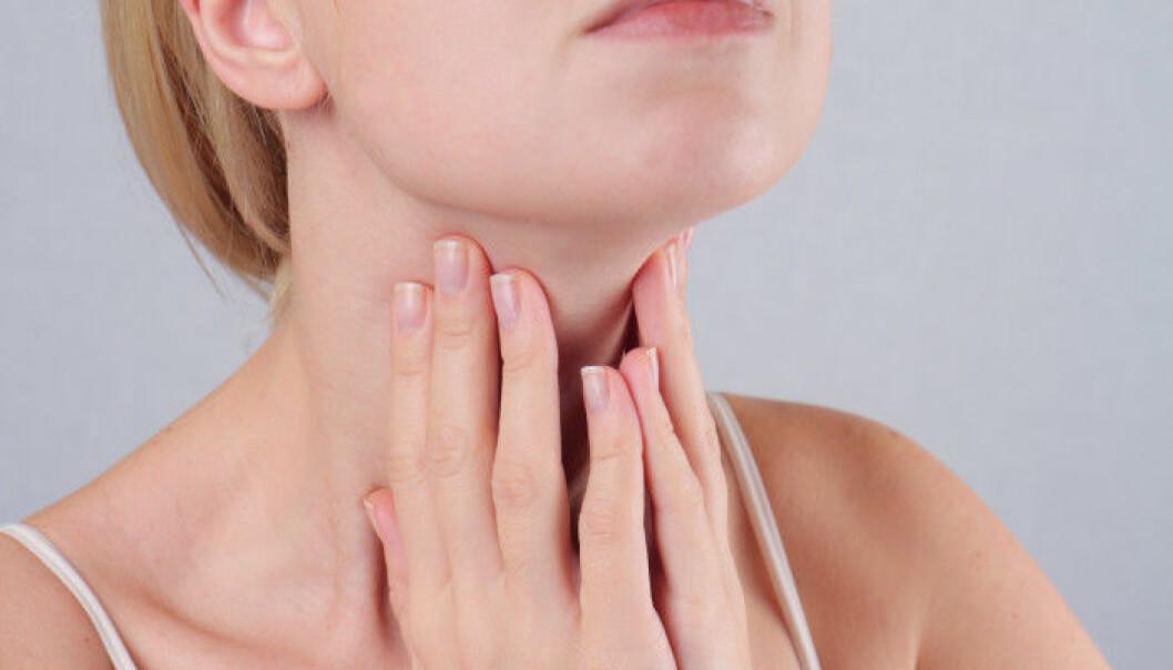 Den som lider av hypotyreos har en underfunktion i sköldkörteln