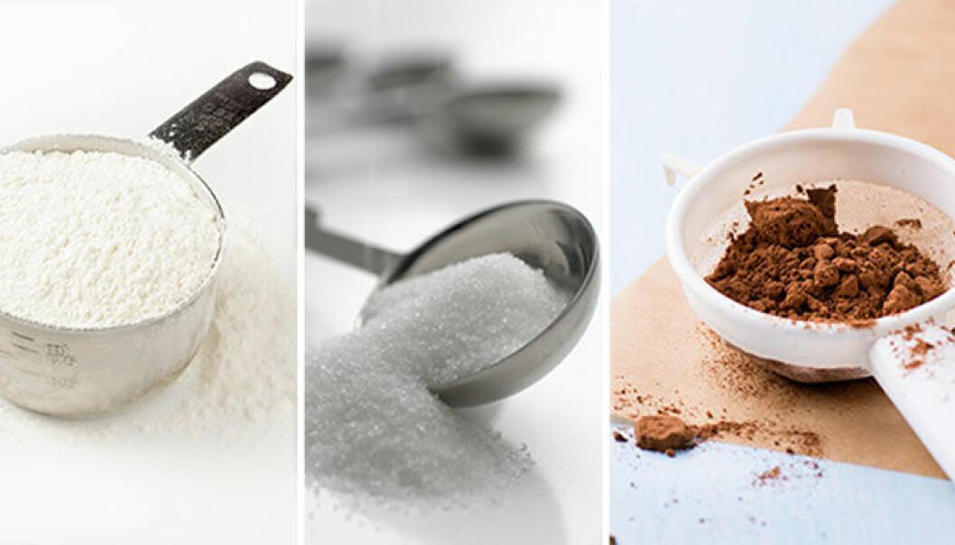 1 dl socker gram