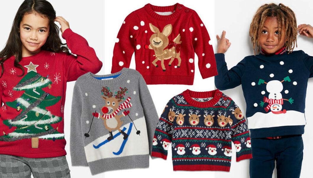 enormt lager Nya produkter försäljning usa online 15 roligaste jultröjorna för barn 2018!   Allas.se
