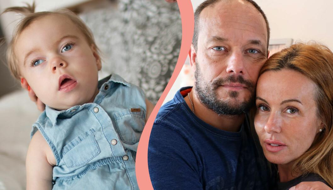 Emma Aldins och Rickard Lundqvists dotter Eleonora Aldin hade en unik genmutation och gick bort i februari 2019.