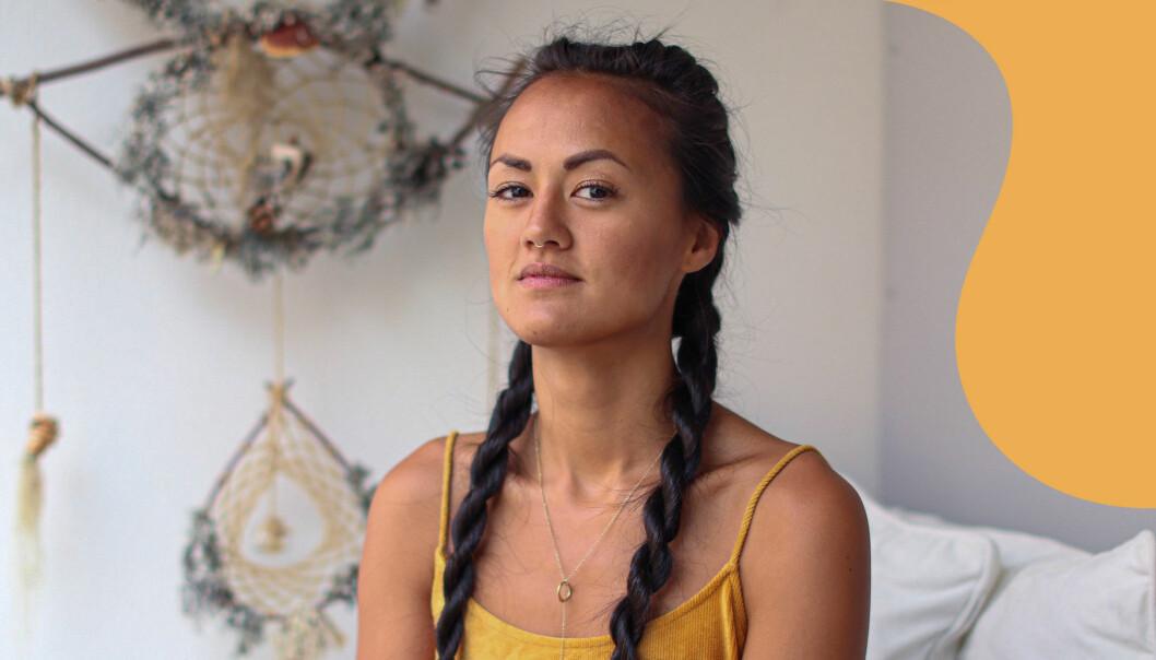 Porträtt av Sofia Su som arrangerar sexfester får kvinnor