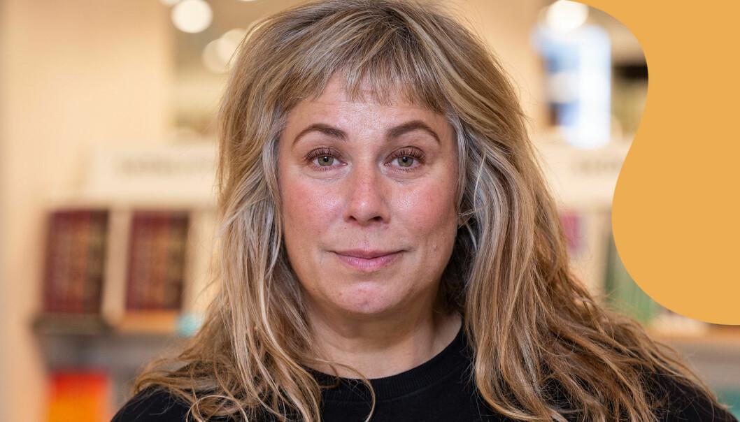 Porträtt av Stina Wollter