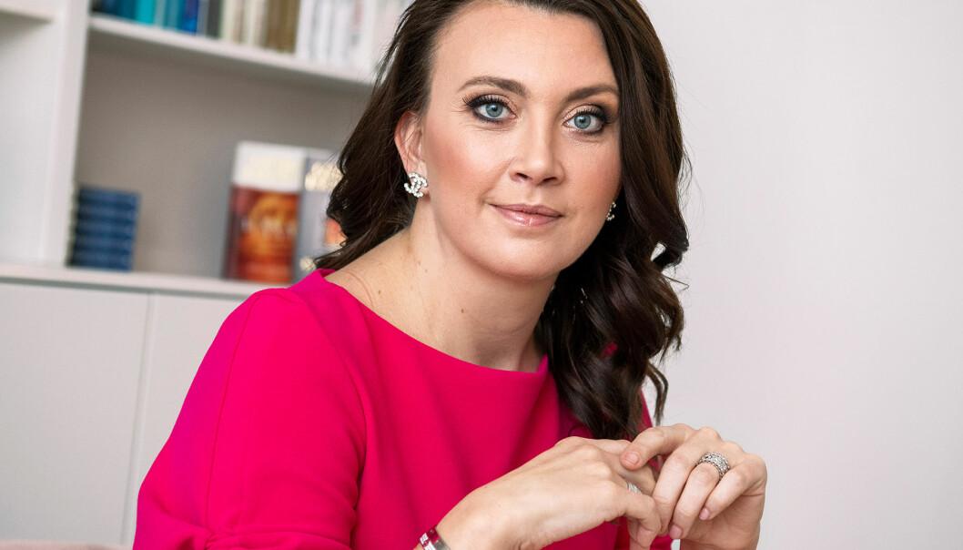 Porträtt av Camilla Läckberg