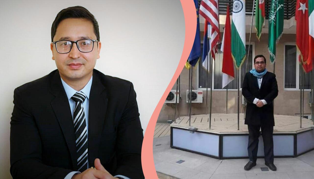 Abdul Ghafoor och Mohammad Reza Mousavi hjälper människor som utvisats till Afghanistan från Europa.