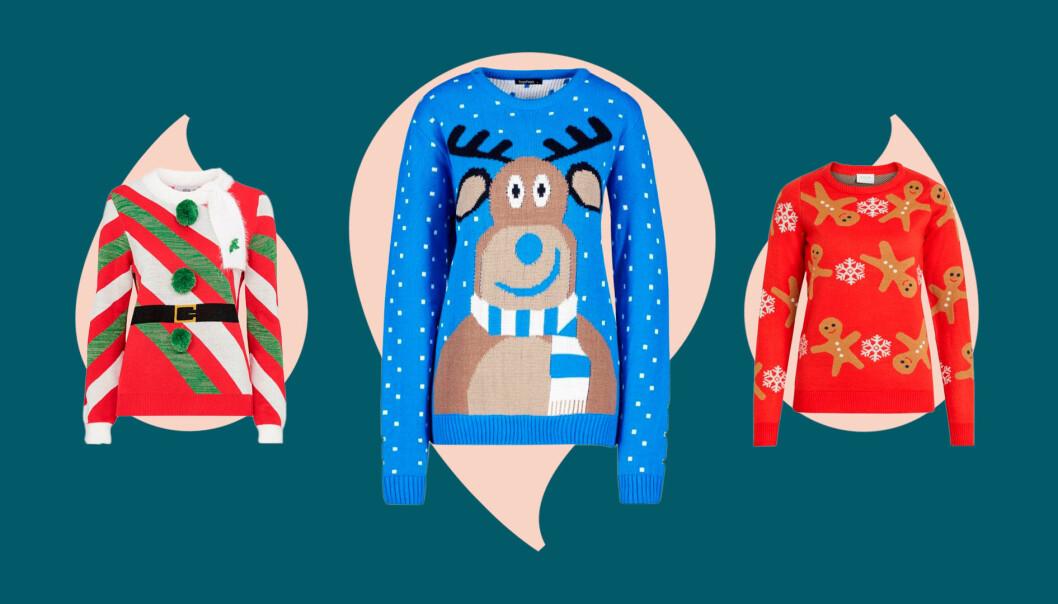 Fula jultröjor att köpa julen 2019