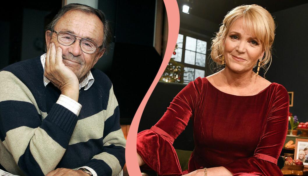 Arne Weise och Kattis Ahlström har båda varit julvärdar i SVT.