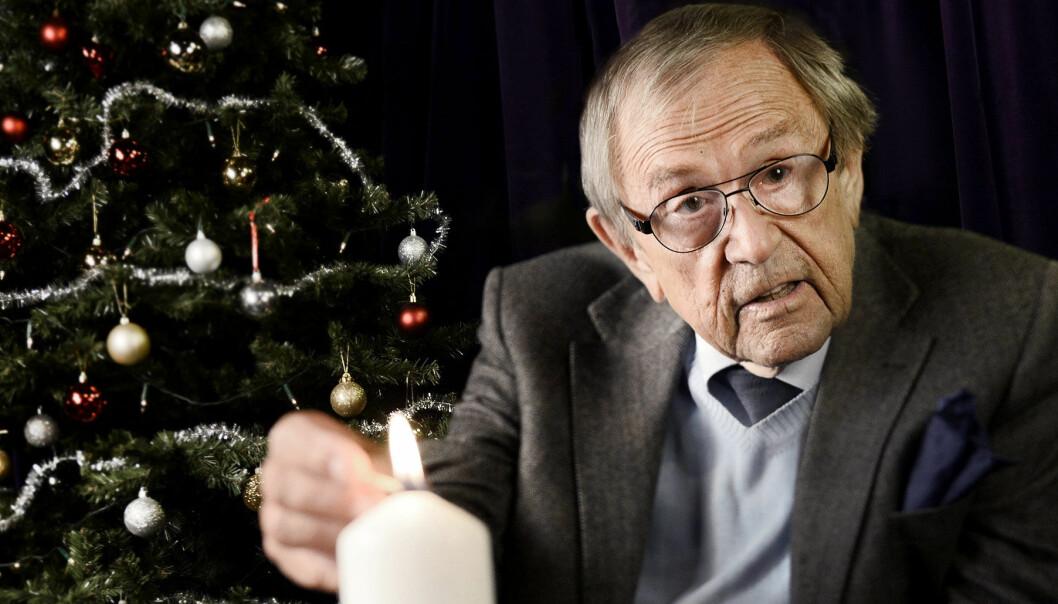 Arne Weise var en uppskattad julvärd i många år.