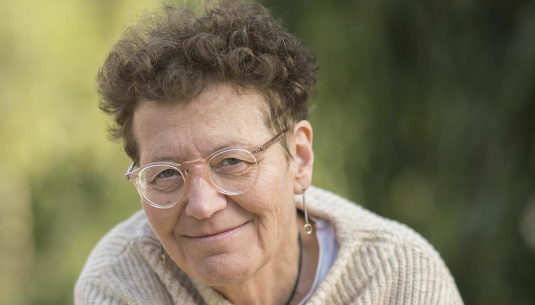 Lena Einhorn som har skrivit boken Den tunna isen.