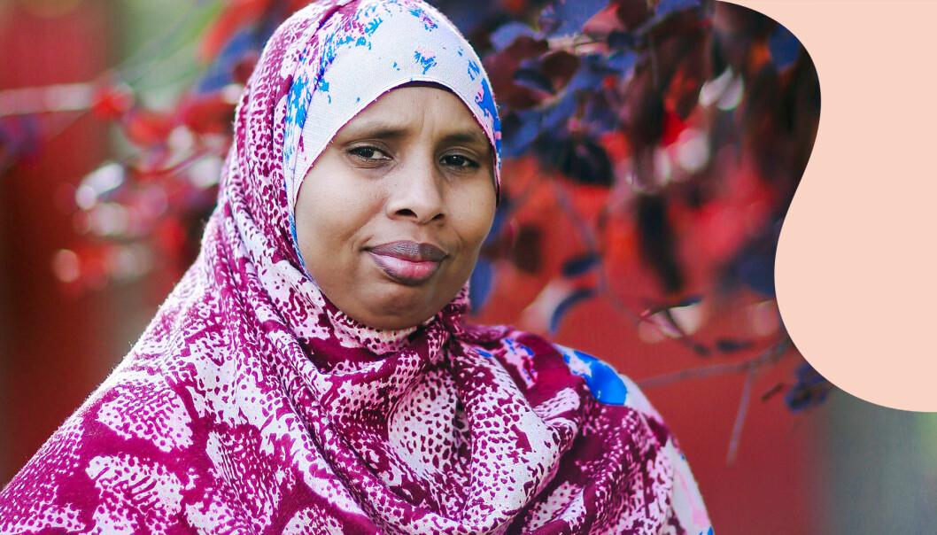 Sahra arbetar som kulturdoula och stöttar födande kvinnor.