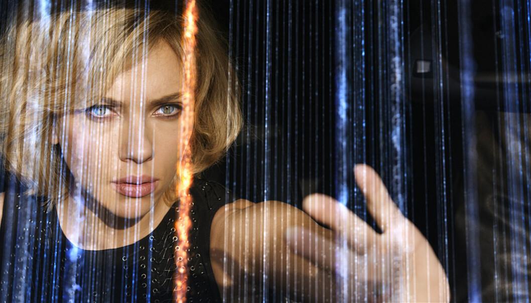 Scarlett Johansen i filmen Lucy från 2014.