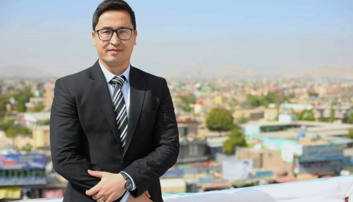 Abdul Ghafoor driver organisationen Afghanistan Migrants Advice & Support Org i Kabul.