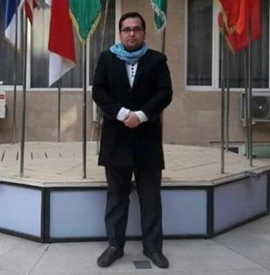 Mohammad Reza Mousavi driver organisationen Afghanistan Youth Voice Organization.