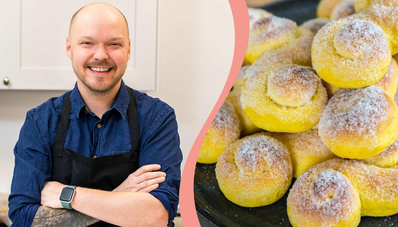Fredrik Nylén från Fredriks fika tipsar om julbak som går att förbereda och frysa in.