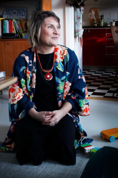 Tove Lundlycke ar doula och vice ordforande i Organisationen for doulor och forlossningspedagoger.