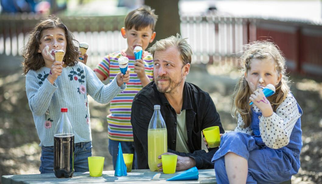 Erik Johansson i SVT:s serie En perfekt förälder.
